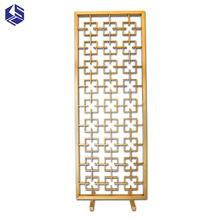 Hot sale fancy room dividers decorative metal screen room partition
