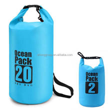 Mix Sizes PVC Beach Dry Lightweight Waterproof Dry Bag Floating Dry Gear Bags