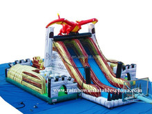 New designed Dinosaur funcity for kids/inflatable jumpers/happy hop on inflatables