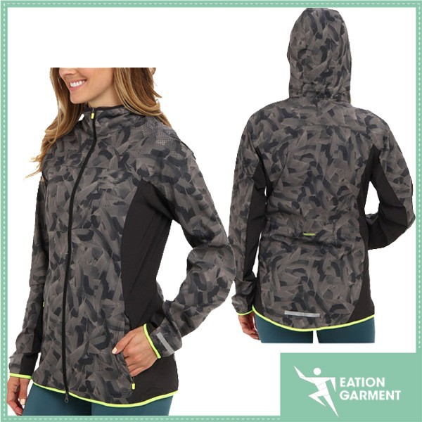 women latest popular softshell digital camo jacket