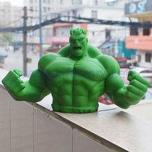 Custom The Hulk Plastic Saving Bank