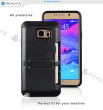 For note5 smartphone stylus back cover phone case