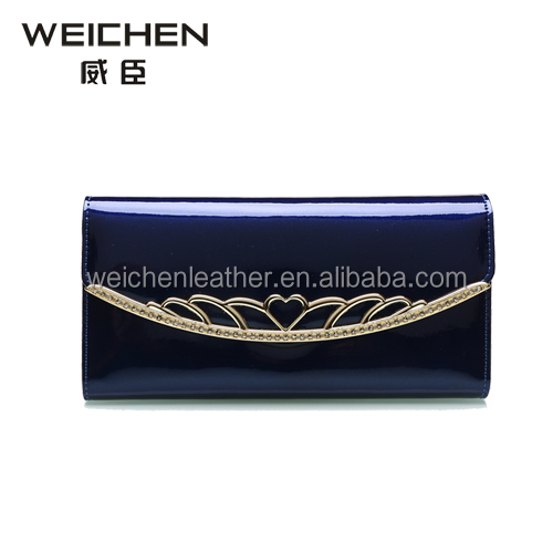 2017 latest design hand made ladies purse cheap leather purses for ladies