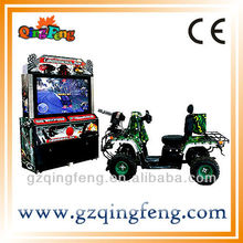 Coin operated car racing machine MR-QF292-4 simulation soccer table