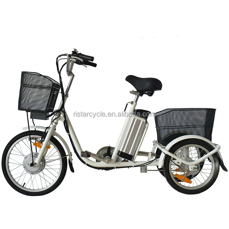New Special 3 wheel cargo bicycle electric tricycle with 250w power