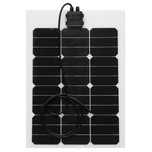40W High Quality rollable sunpower thin film flexible solar panel for boats marine