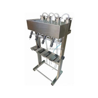 Electrical Pumping Filler Liquids Filling Machine
