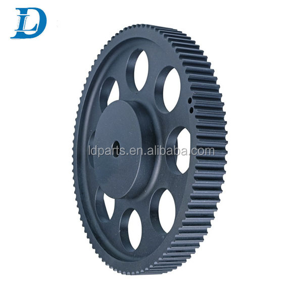 Taper Bore HTD 5M Timing Belt Pulleys with Flange