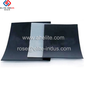 black plastic geo membrane used for lotus pond liners
