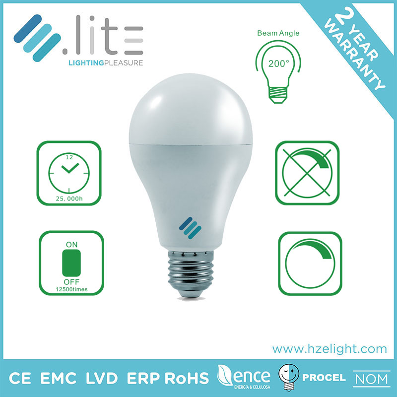 20w style energy saving E27 7W LED lighting bulb