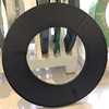 Black Steel Strap Strip Belt Tape