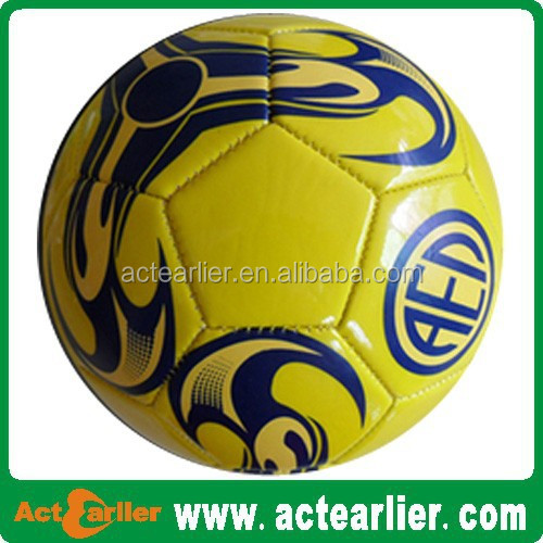custom offical size football pool soccer ball