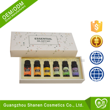 ODM/OEM Aromatherapy Gift Set 6 Set /10ml Pure Oil Private Label Essential Oil Set