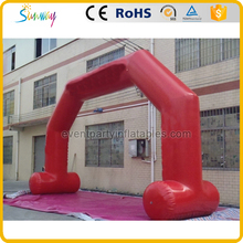 Welded Sealing inflatable advertise air tight event archway entrance arch