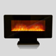 Factory direct sale wall logs 1500W adjustable heat free standing electrical fireplace market LJHF3602E TV