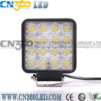 Car/Truck 48W LED working light with light beam of 60degree