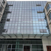 Aluminum Glass Curtain Wall Price