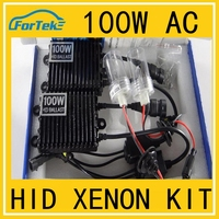 Super bright wholesale 12V/24V 100w ac h1 h3 h7 h11 hid xenon kit ac ballast Headlight hid conversion kit