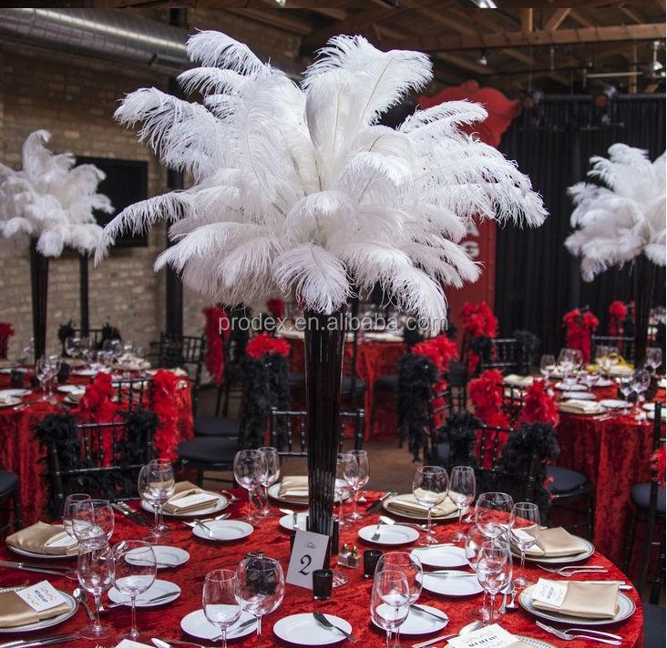 Tall Wedding Candelabra Centerpiece Feather Centerpiece Buy Royal