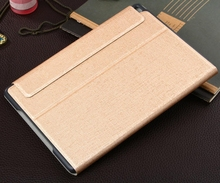 New Product Wholesale Leather Tablet Flip Cover Case for Apple ipad Air 2 ipad6 with Stand Function and Card Slot