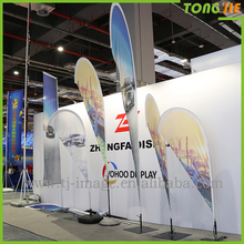 Banner stands wall fabric murals