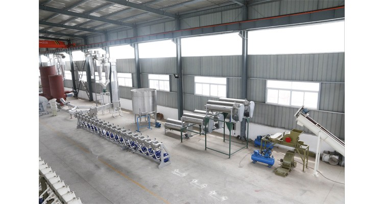 Food making edible cassava starch processing line