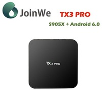 Wechip Provide TX3 PRO android smart TV box 4K 1G+8G amlogic s905x free iptv KODI download google android 6.0 tv box