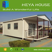 Earthquakeproof assembled houses prefabricated house pvc ceiling 39.56 m2 house plans