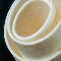 Nonwoven 100% Wool Fabric 5mm Thick Needle Punched Felt