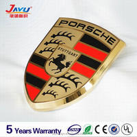 High quality stainless steel Mercedes-Benz 3d car metal logo made in China