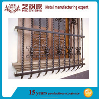 Wrought iron window/wrought iron window grill design for safety/iron window design/2015