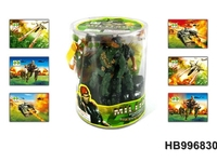 2013 Wholesale Kids Mini Plastic Soldiers Figures Military Toys