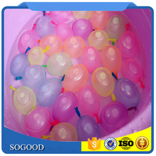 Wholesale Kids Toys With Connector Filled in a Minute 1 Tie 37 Pcs Per Bundle Magic Water Balloon