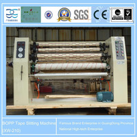 1600mm 4shafts Hot Sale XW-210 BOPP Packing Tape Jumbo roll Slitting and Rewinding Machine with CE