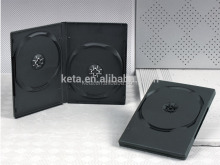 Wholesale 20 years in cd dvd media field 7mm 14mm 1/2/3/4/5/6 disc plastic black dvd case