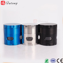 FT4215 Yiwu Futeng Wholesale CNC Teeth 4 Parts Sharp Metal Tobacco Grinder Herb Grinder