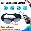 Factory High Quality 720P WIFI Video Camera Eye glasses Wifi Wireless Sunglasses Camera