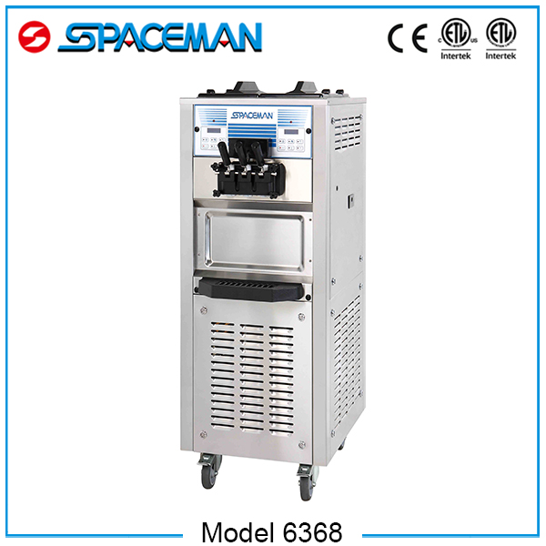 Buy china products soft serve mobile three flavors ice cream machine