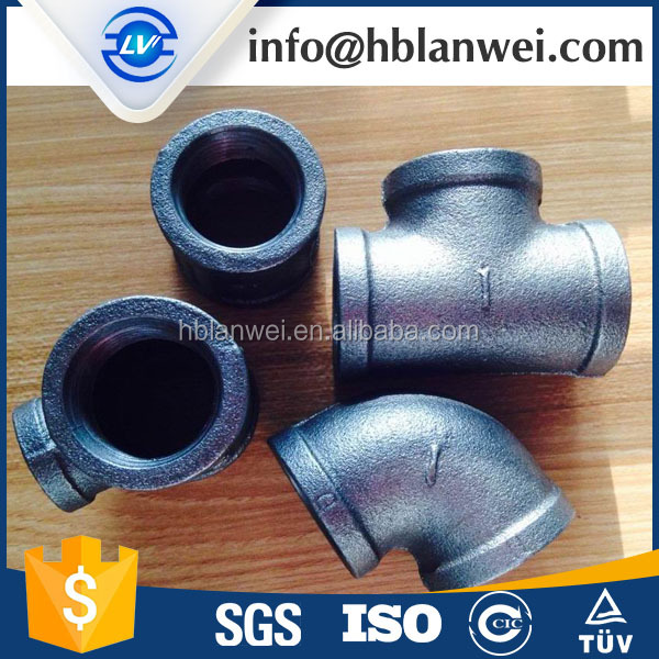 GALVANIZED EQUAL TEE Threaded Tee Forged Steel Tee Fittings