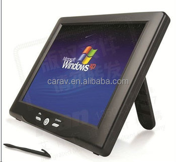 9 inch lcd touch screen monitor with stand CE ROHS FCC