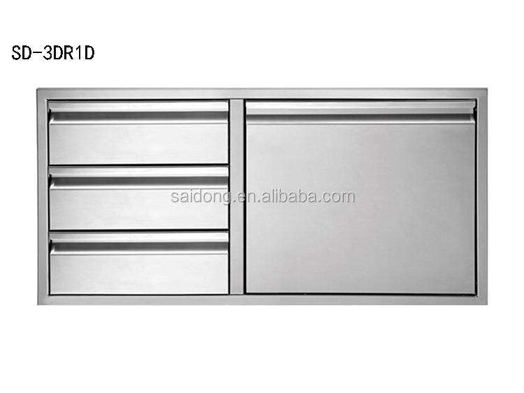 Stainless Steel Outdoor Kitchen Component Door Cabinet Stainless Built In  Door   Buy Kitchen Component Door,Kitchen Door,Kitchen Component Cabinet  Product ...