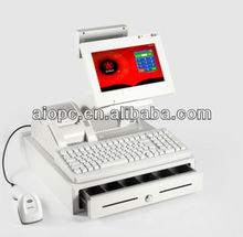 Supermarket fiscal electronic cash register