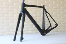 New arrival carbon cyclocross frame FM286 flat mount bike