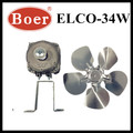 ELCO NO-FROST FREEZER PARTS -SHADED POLE MOTOR(YJF58-34W)