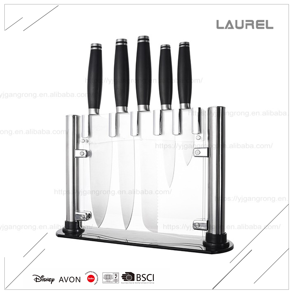 High quality wholesale 420 stainless steel blade fruit carving knife set