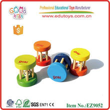 Wooden Musical Toy Baby Rattle