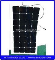 Factory direct supply flexible cigs solar panel 100w on alibaba