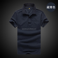 Manufacture custom printing design men's polo printed t shirt for work uniform