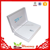High quality book shape paper gift box , texture paper material paper packaging box