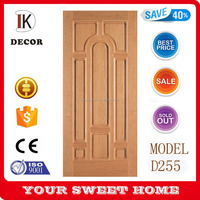 Latest Single Engineered Wood Panel Door Design